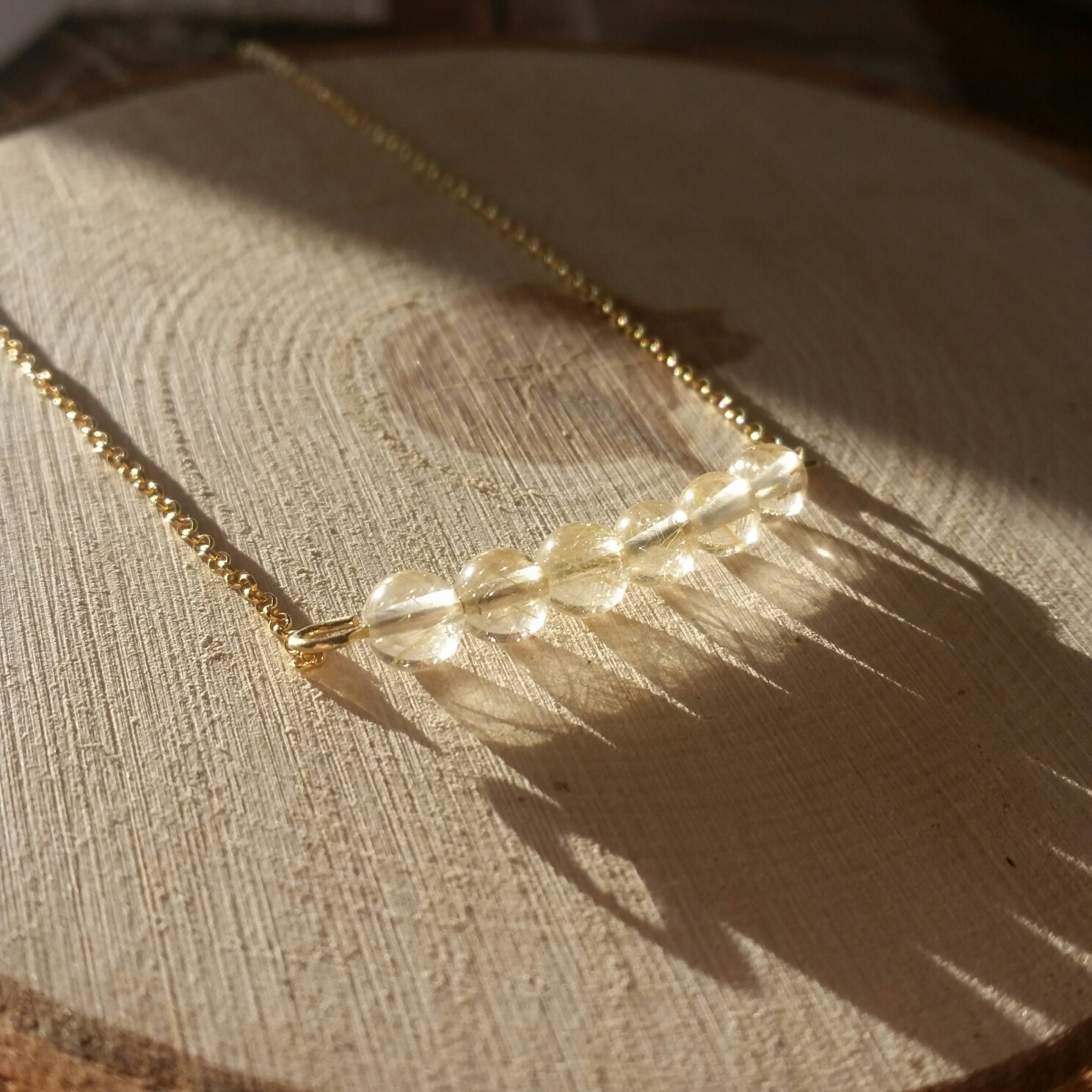 Rutielkwarts halsketting kralen sieraad armband