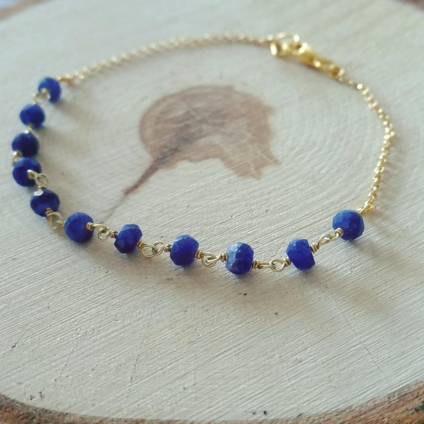 saffier sieraad armband halsketting