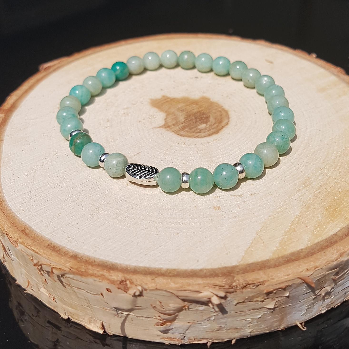 amazoniet sieraad armband