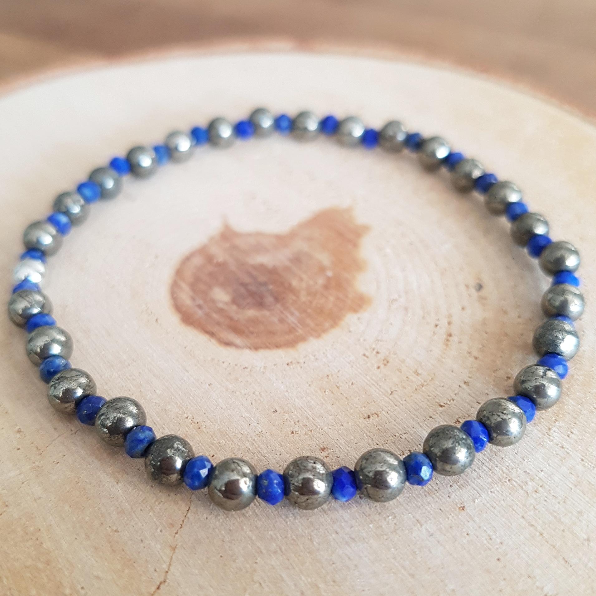 Lapis Lazuli met Pyriet