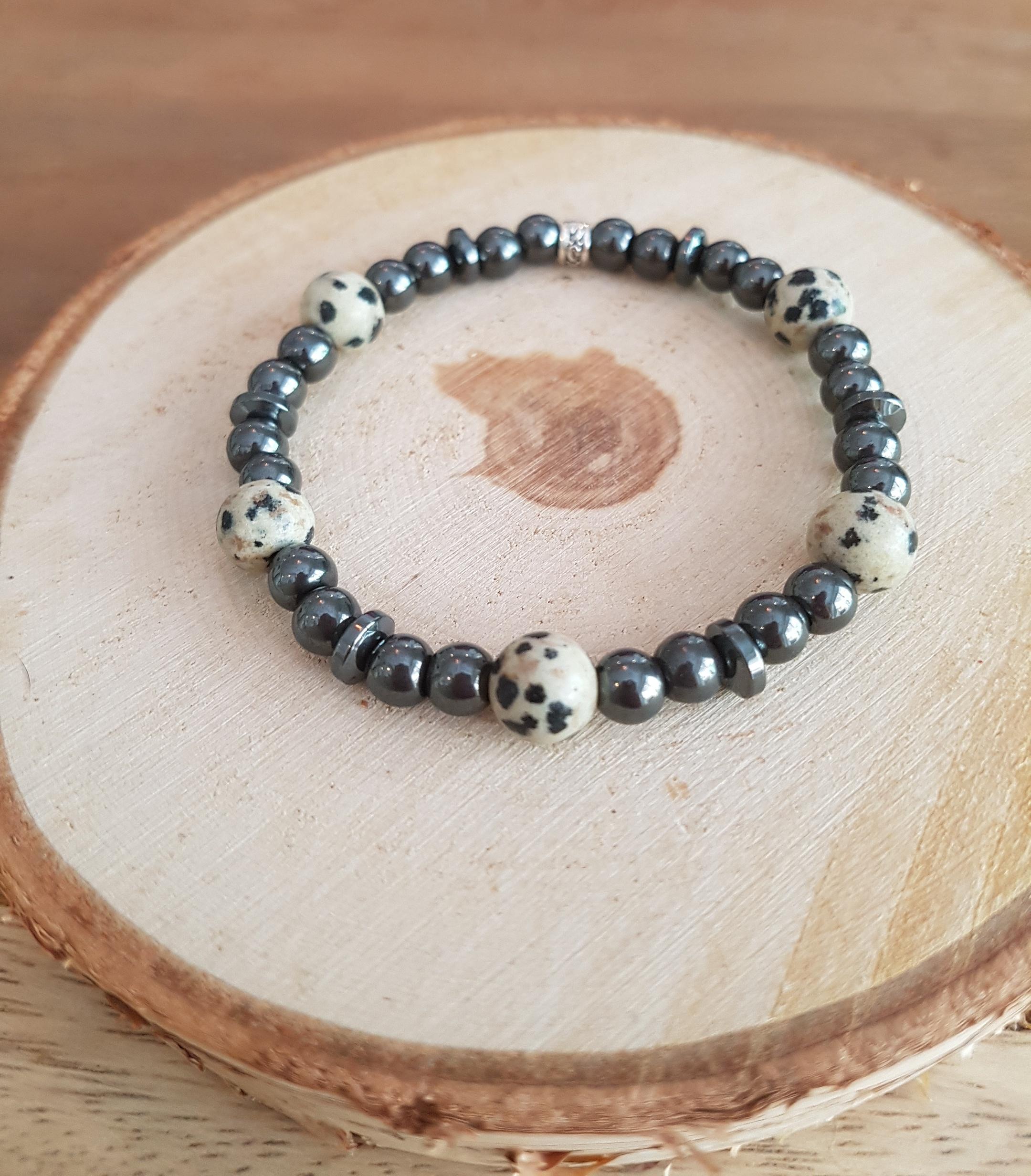 dalmatier hematiet armband