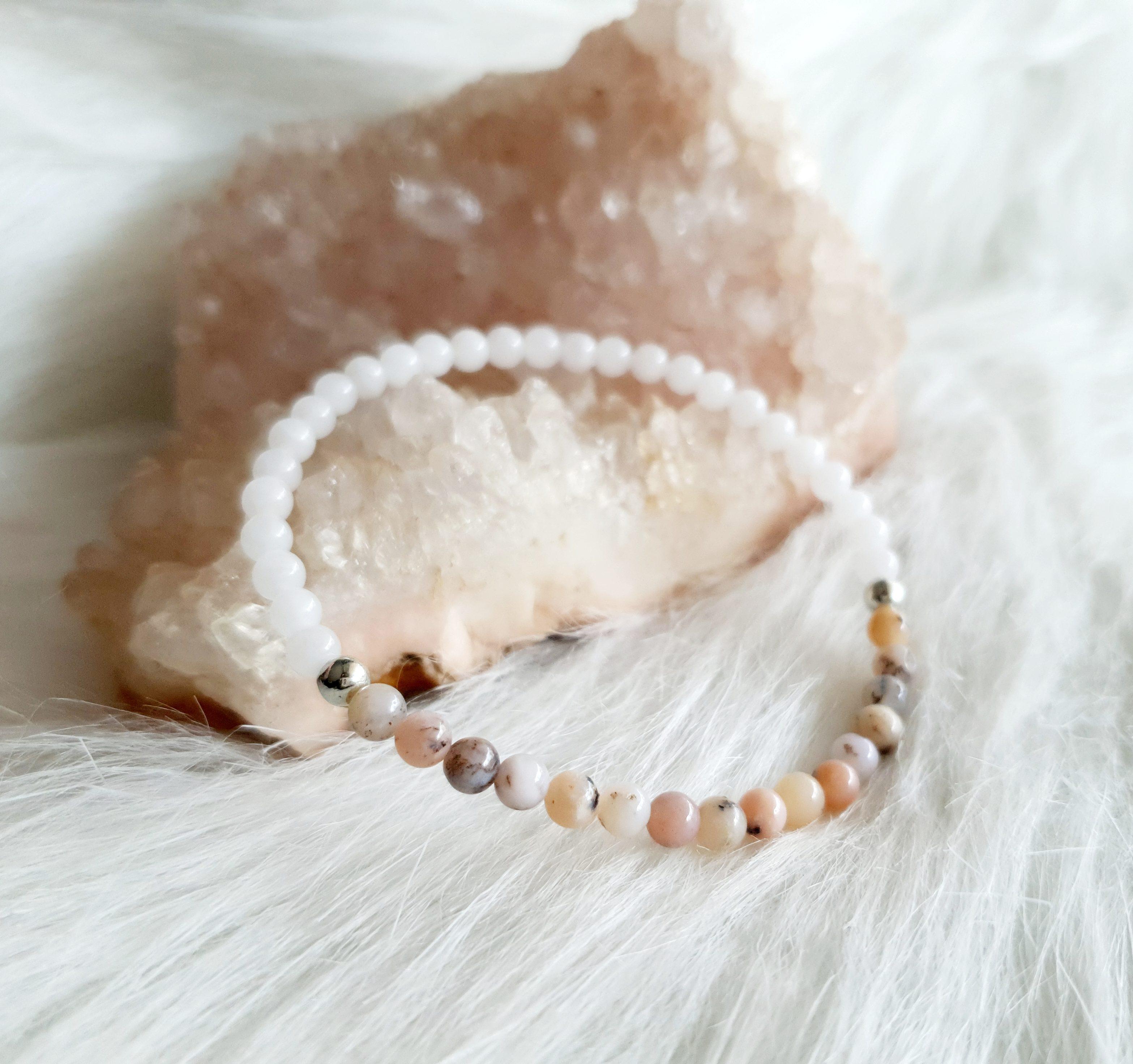 jade opaal armband