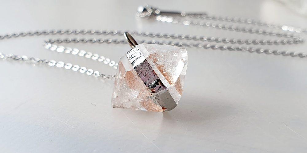 Herkimer Diamant ketting